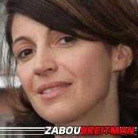 Zabou Breitman  Actrice, Doubleuse (voix)