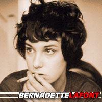 Bernadette Lafont  Actrice