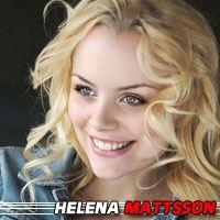 Helena Mattsson  Actrice