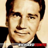 Richard Conte  Acteur