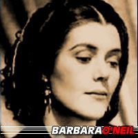 Barbara O'Neil  Actrice