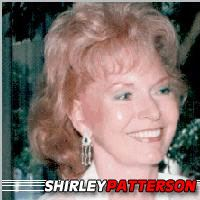 Shirley Patterson  Actrice