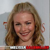 Melissa Sagemiller  Actrice