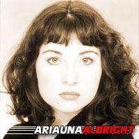 Ariauna Albright  Actrice