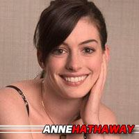 Anne Hathaway  Actrice, Doubleuse (voix)