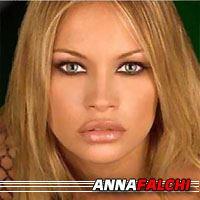 Anna Falchi  Actrice