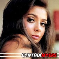 Cynthia Myers  Actrice