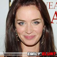 Emily Blunt  Actrice