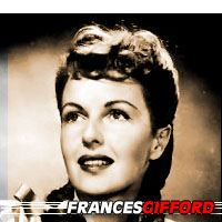 Frances Gifford  Actrice