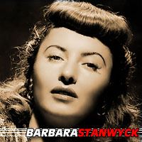 Barbara Stanwyck  Actrice