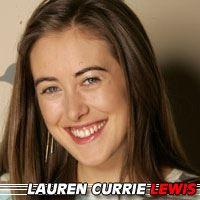 Lauren Currie Lewis  Actrice