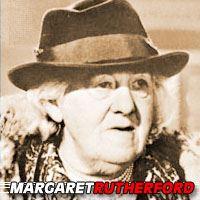 Dame Margaret Rutherford