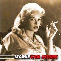 Mamie Van Doren  Actrice