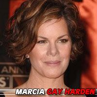 Marcia Gay Harden  Actrice