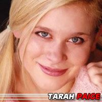 Tarah Paige  Actrice