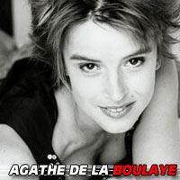 Agathe de la Boulaye  Actrice