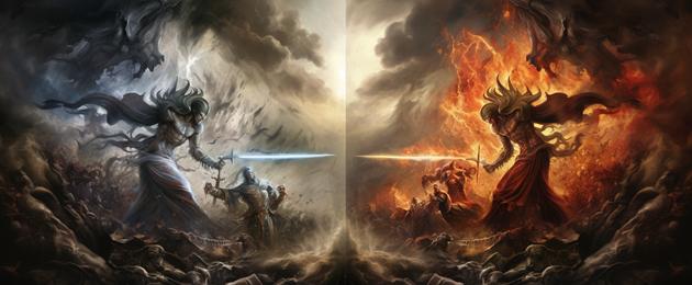 Lutte du Bien contre le Mal