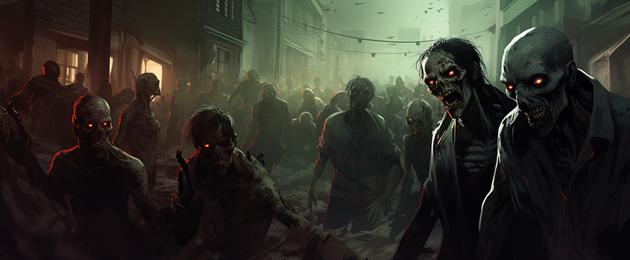 zombies, morts vivants, goules Créatures d'outre tombe